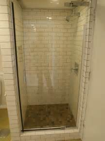 bath and shower stall ne portland basement renovation after in brief from the