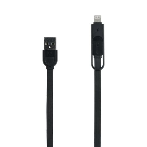 Remax Cable Micro Usb 1 Meter Ori Fast Charging Kabel Data remax yards 2 in 1 rc033 fast charge usb cable original retrons