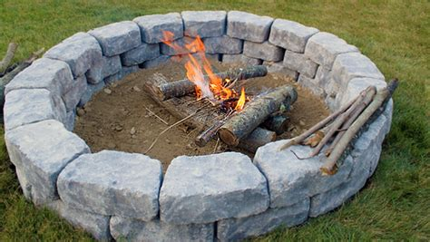 do it yourself firepit home diy landscaping ideas do it yourself landscaping