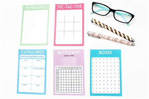 printable games to play on paper paper games printable