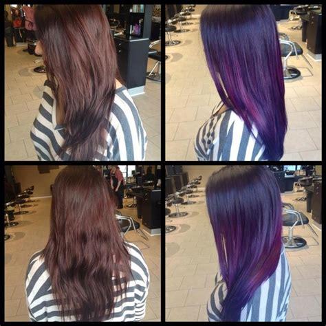 pravana list of hair colirs pravana vivids ombr 233 by jacquelyn marie of bii hair salon