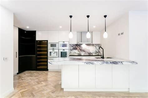 kitchens  double wall ovens photo examples