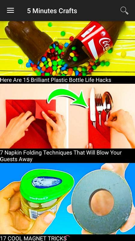 minute crafts  android apk