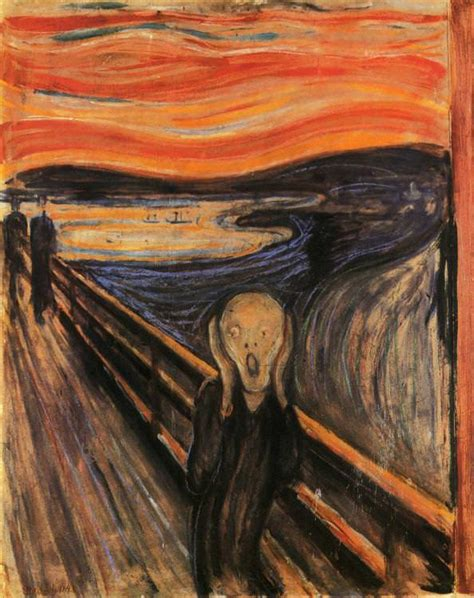 edvard munch the scream 1893 by edvard munch