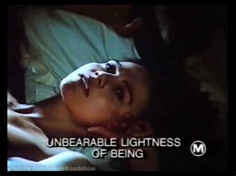 the lightness of being the unbearable lightness of being 1988 trailer