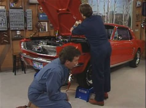 imcdb org 1966 ford mustang in quot home improvement 1991 1999 quot