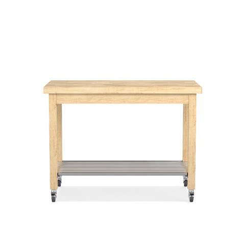 Boos Furniture by Boos Island With Shelf Maple Williams Sonoma