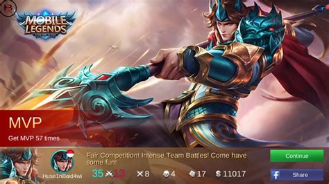 mobile legend ranking best build zilong dan untuk ranked mobile legends