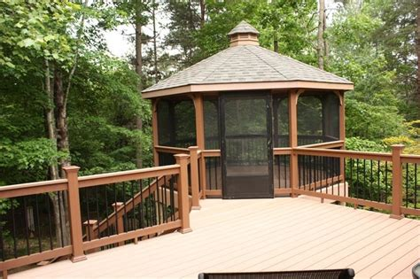 gazebo deck 17 best images about decks on screened patio