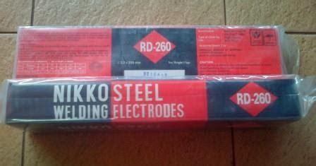 Nikko Steel Rd260 32 Mm Kawat Las Elektroda kawat las nikko steel rd 260 3 2mm cipta teknik