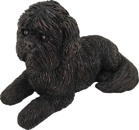 shih tzu urn shih tzu bronze look figurine cremation urn mypetforlife pet care items and