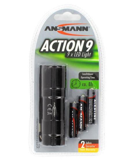 Batt Original 100 Fs1 Torch mini torch 9 leds ansmann 3 aaa batteries batteries4pro