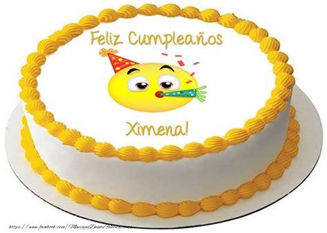 imagenes de feliz cumpleaños ximena ximena felicitaciones de cumplea 241 os