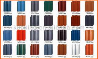 Roof Tile Colors Tile Roof Roof Tile Colors