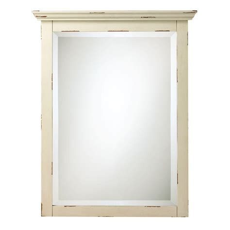 Home Decorators Collection Mirrors Home Decorators Collection Spencer 30 In H X 23 In W Mirror In Antique Discontinued