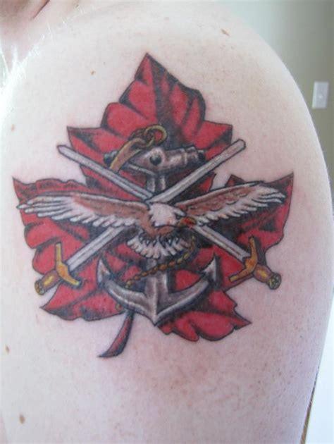tattoo designs canadian military tattoos