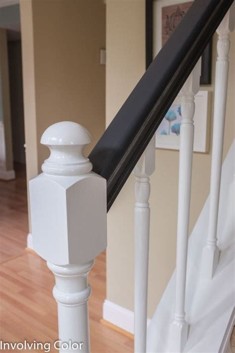How To Paint Stair Banisters Railings by Best 25 Painted Stair Railings Ideas On Diy