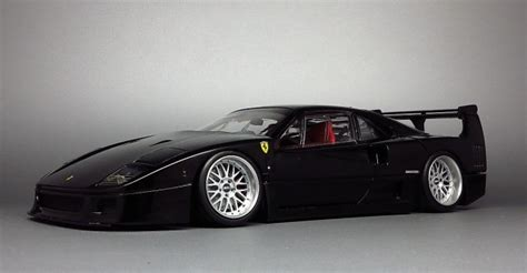 slammed ferrari f40 minicars the 1 18 cars of your dreams are now for sale
