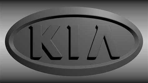 kia logo kia logo 3d model obj blend cgtrader com