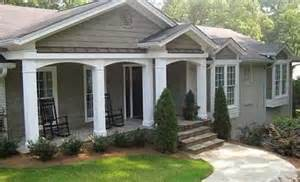 front porch designs for ranch homes front porch ideas for ranch style homes