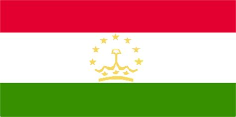 flags of the world green white red flag of tajikistan britannica com