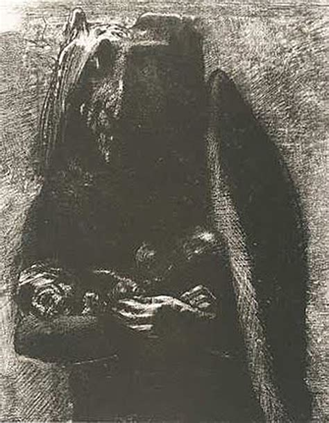 The Graphic Works Of Odilon Redon peasants and parisians 19th century graphic arts