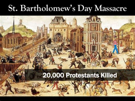 st s day assacre wars of religion