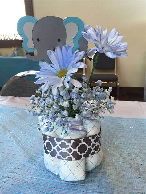 Centerpieces For Baby Shower by Elephant Baby Shower Centerpiece Plan To Many Soirees