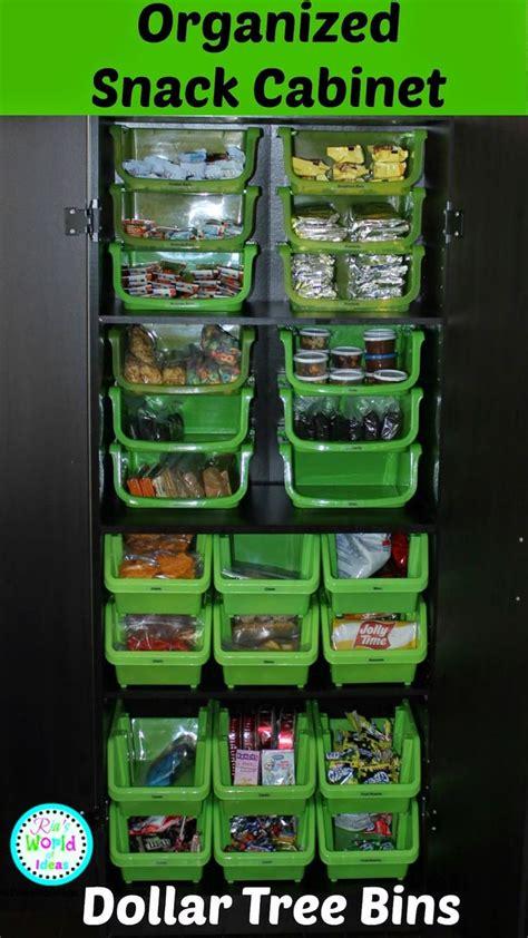 Pantry Snack Organizer by 25 Unique Dollar Tree Organization Ideas On
