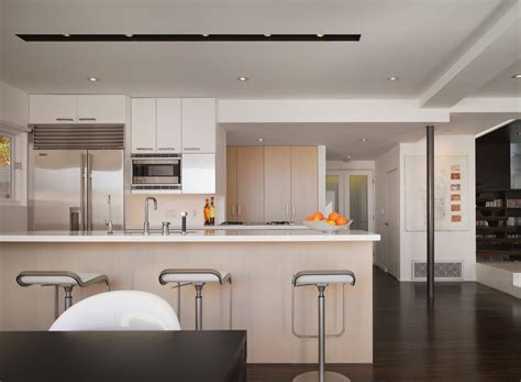 Contemporary Track Lighting Kitchen Modern With White Bar Contemporary Track Lighting Kitchen