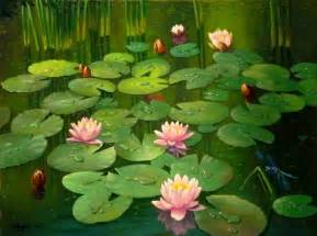 Lotus Flower Pond Lotus Flower Pond Wallpaper