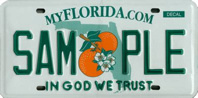 Florida Vanity Plates by File Florida License Plate In God We Trust Jpg