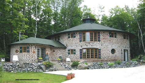 cordwood construction cordwood log cabin building