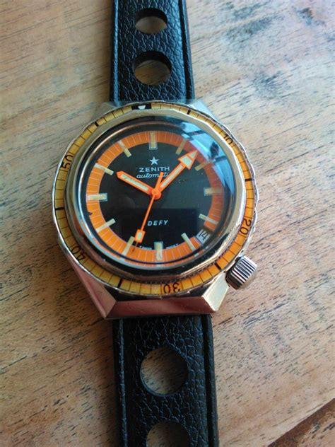 dive anni 70 vintage zenith diver 1970