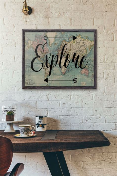 travel wall ideas lovely diy travel inspired home decor ideas to bring a