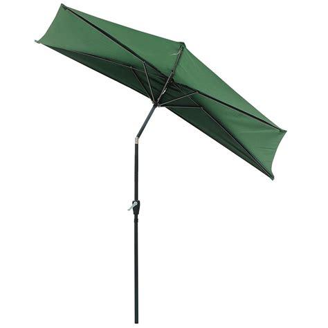 patio half umbrella half umbrella patio galtech 3 5x7 half wall commercial