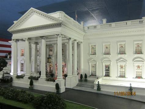 fame house miniature white house picture of presidents hall of fame clermont tripadvisor
