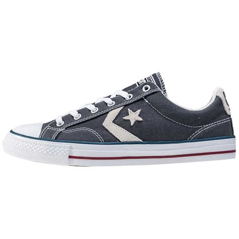 Converse Player Gray converse player mens trainers in grey
