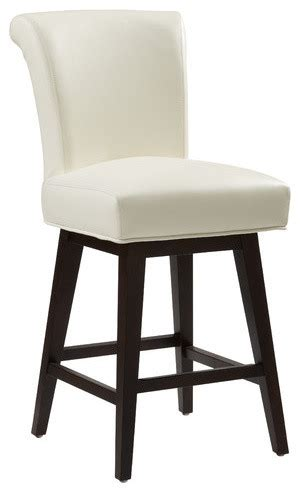 Modern Leather Counter Stools by Hamlet Swivel Bonded Leather Stool Modern Bar Stools