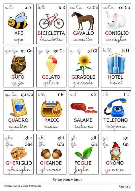 lettere in italiano the gallery for gt alfabeto italiano per bambini