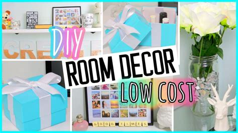 Room Decor by Diy Room Decor Low Cost Projects Recycling Ideas