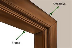how to remove an door frame and architrave