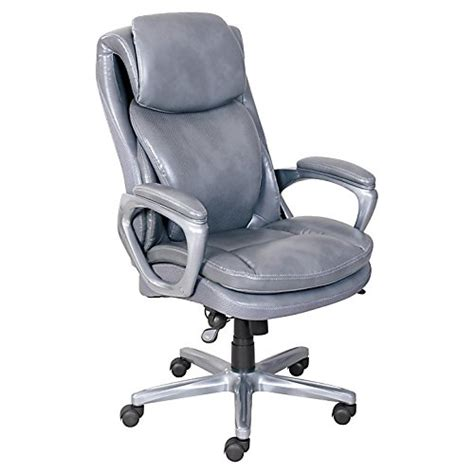 serta r smart layers tm air arlington executive chair gray pewter cpawarehouse