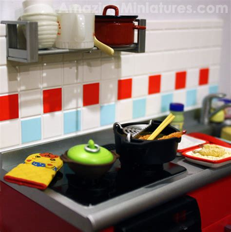 Rement Kitchen by Re Ment Miniatures The Kitchen