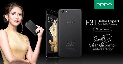 Oppo F3 Black Limited Edition Garansi Resmi Opp oppo f3 geronimo limited edition smartphone now available for pre order hardwarezone ph