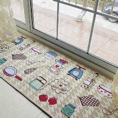 Jacquard Kitchen Rugs Yazi Jacquard Food Home Kitchen Rug Runner Soft Fabric Floor Carpet Door Mat 45x178cm