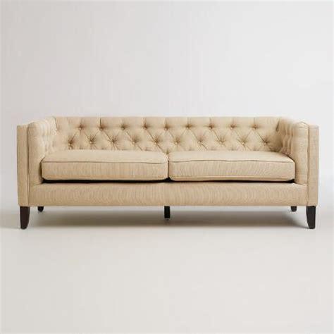 world market kendall sofa sand kendall sofa world market