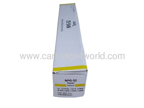 Toner Npg 52 canon npg 52 y toner cartridge high page yield from china