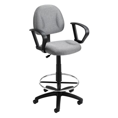 comfortable drafting chair boss ergonomic works adustable drafting chair with loop