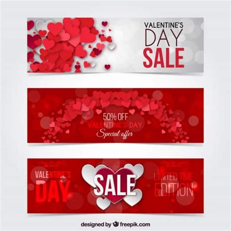 valentines day cheap free valentines day web banner templates creative beacon